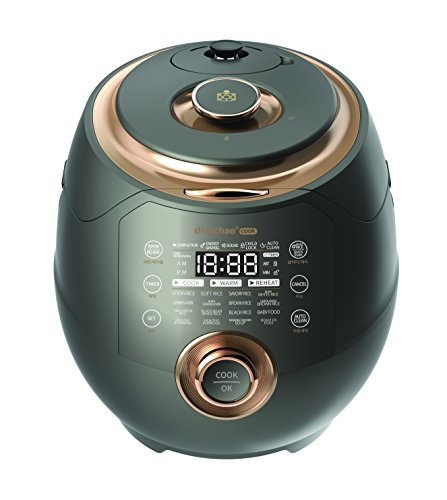 Dimchae Cook Induction Heating Pressure Rice Cooker 10 Cup (Bronze)