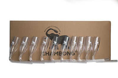 Chambong (Plastic) Bulk 50 pieces - Acrylic Chambongs: Case of 50