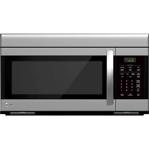 GE JNM3161RFSS 1.6 Cu. Ft. Stainless Steel Over-the-Range Microwave