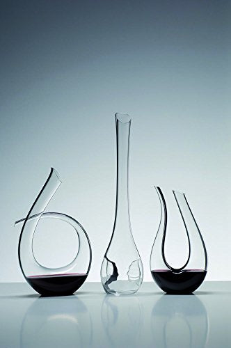 Riedel 4100/23 Black Tie Decanter, One Size, Clear