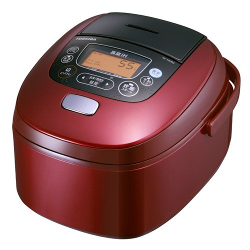 TOSHIBA vacuum pressure IH rice cooker RC-10VRG-R(Japan Import)