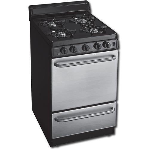 2.42 Cu. Ft. Gas Range in Stainless Steel