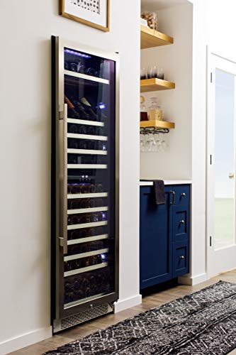 Avallon AWC241TDZLH 141 Bottle Dual Zone Built-In Wine Cooler - Left Hinge