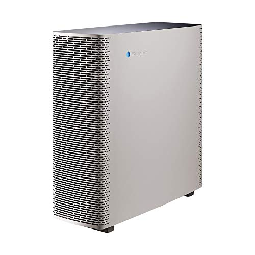 Blueair Sense+ Air Purifier, HEPASilent Technology Particle and Odor Remover, Warm Grey