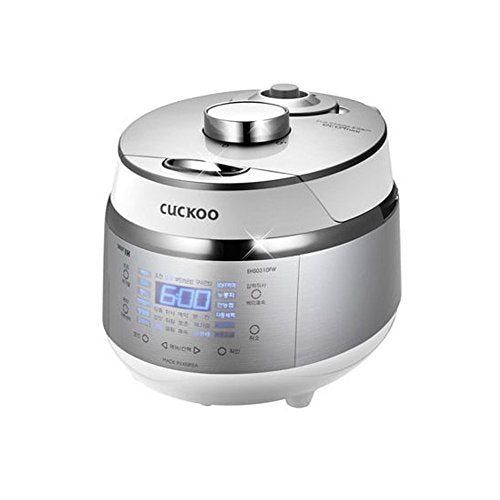 CUCKOO CRP-EHS0310FW IH Electric Rice Pressure Cooker 3 Cups English Voice_220V & Exclusive Simple English User Manual