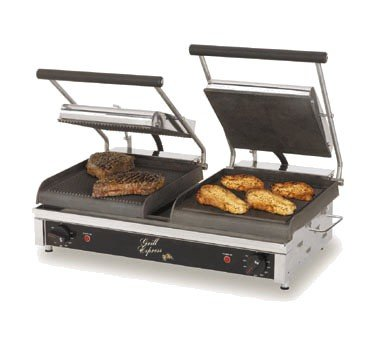 Star Mfg. Grill Express 20 in Iron Grooved / Smooth Grill