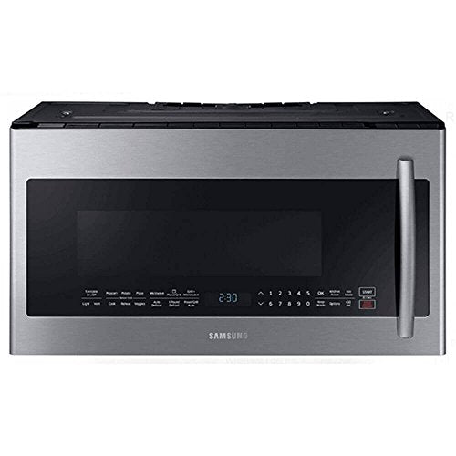Samsung ME21K7010DS/ME21K7010DS/AA/ME21K7010DS/AA ME21K7010DS PowerGrill 2.1 Cu. Ft. 1000W Stainless Over-the-Range Microwave