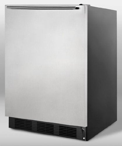 Summit CT66BSSHH Refrigerator, Stainless Steel