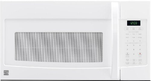 Kenmore 80322White Over-the-Range Microwave (1.6 Cu Ft, 1000 Watts)