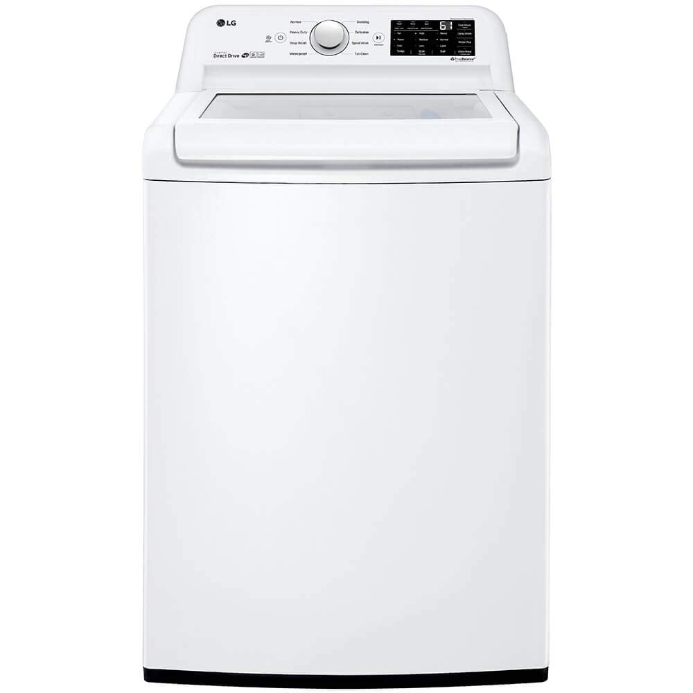 LG WT7100CW 4.5 Cu. Ft. White Top Load Washer
