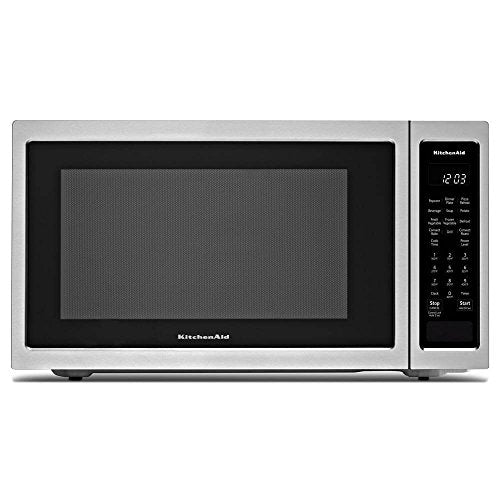 "KitchenAid 21 3/4"" Countertop Convection Microwave Oven - 1000 Watt KMCC5015GSS"