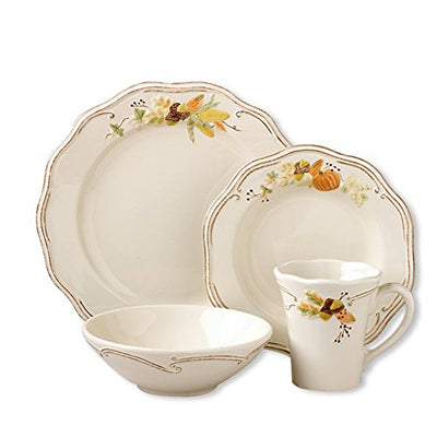 Pfaltzgraff Plymouth 12 Piece Dinnerware Set, Service for 12