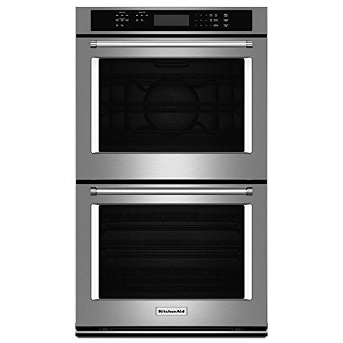 "Kitchenaid 27"" Double Wall Oven With Even-heat True Convection (..."