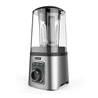 Kuvings Vacuum Sealed Auto Blender SV500S with BPA-Free Components, Quiet Blender, Virtually No Foam, Heavy Duty 1700W Motor, Silver