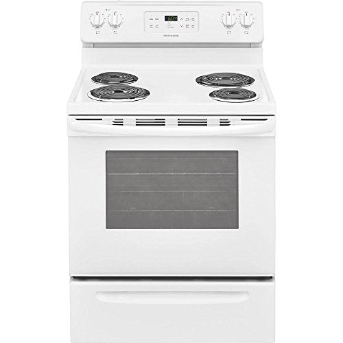 Frigidaire FFEF3016TW 30 Inch Electric Freestanding Range with 4 Coil Elements, 5.3 cu. ft. Primary Oven Capacity, in White