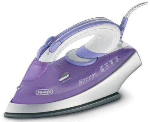 Delonghi DEFXN24A CYGNUS Dry Steam Iron 220-240 Volt/ 50-60 Hz (INTERNATIONAL VOLTAGE & PLUG) FOR OVERSEAS USE ONLY WILL NOT WORK IN THE US, OUR PRODUCT ARE BRAND NEW, WE DO NOT SELL USED OR REFERBUSHED PRODUCTS.