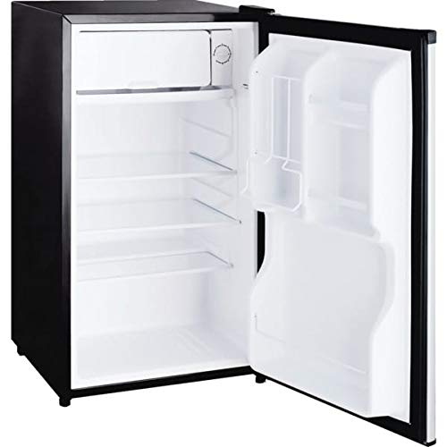 "1 Pc, Seasons 32-1/2H X 18-1/2W X 19-11/32""D 3.3 Cubic Feet Refrigerator Energy Star, Manual Defrost, Adjustable Thermostat Control, Glass Shelves"