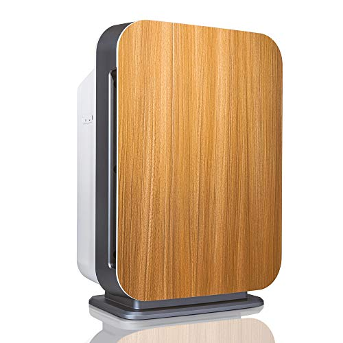 Alen BreatheSmart 75i Large Room Air Purifier, 1300 Sqft. Coverage Area, Antimicrobial True HEPA Filter, for Heavy Odors, Allergies, Dust, Pollen, Mold, Bacteria, Dander and Pet Fur, Oak