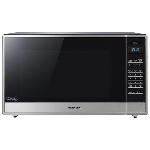 Panasonic 2.2 Cu. Ft. Built-In/Countertop Cyclonic Wave Microwave Oven w/Inverter Technology - Stainless Steel