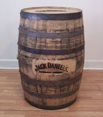 Jack Daniles Whiskey Barrel Heat Branded-Top-Side
