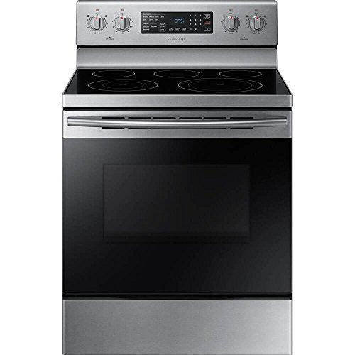 Samsung NE59M4320SS 5.9 Cu. Ft. Stainless Electric Convection Range NE59M4320SS