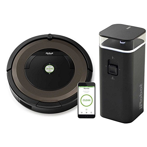 iRobot 890 Roomba Robotic WiFi connectivity Vacuum with Virtual Wall Included