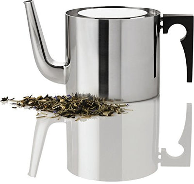 Stelton Arne Jacobsen tea pot, 42.3 oz