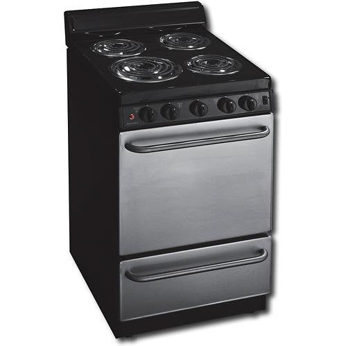 2.42 Cu. Ft. Electric Range in Stainless Steel