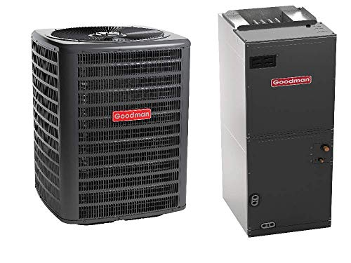 Goodman 3.5 Ton 16 Seer Heat Pump System with Multi Position Air Handler