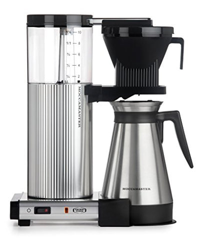 Technivorm Moccamaster 89912 Coffee Machines, 40 oz, Polished Silver