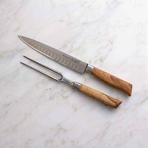 Messermeister Oliva Elite Kullenschliff Carving Set