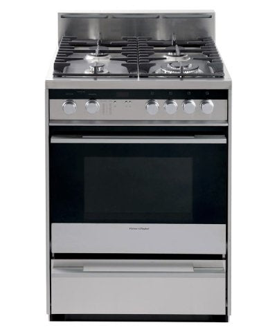 "Fisher Paykel OR24SDMBGX2 24"" Stainless Steel Gas Sealed Burner Range - Convection"