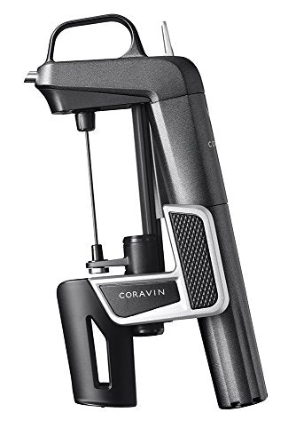 Coravin 100009 Model Two Plus Pack Wine Preservation System, 2, Includes 2 Argon Capsules, Replacement Needles and Carry Case