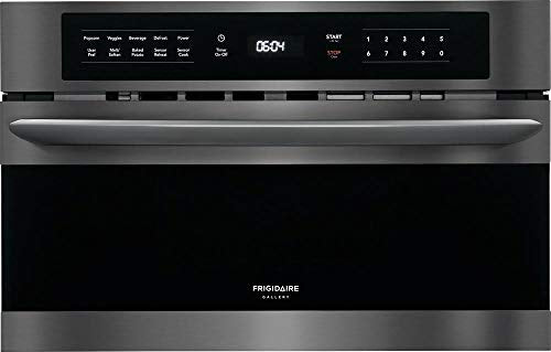 Frigidaire FGMO3067UD 30 Inch Built In Microwave Oven with 950 Cooking in Black Stainless Steel