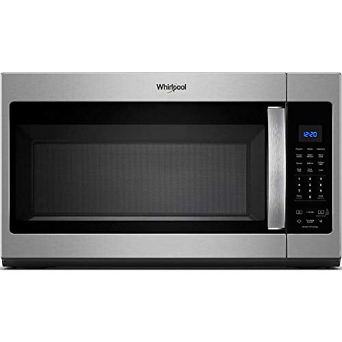 Whirlpool 30 in. W 1.9 cu. ft. Over the Range Microwave in Fingerprint Resistant Stainless Steel with Sensor Cooking