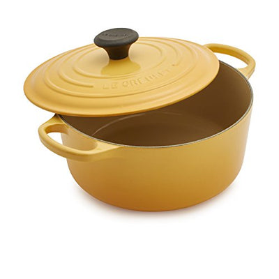 Le Creuset Signature Round Dutch Oven LS2501-245H, 4.5 qt, Honey