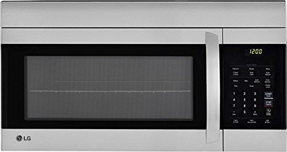 LG LMV1762ST 30 Inch Over the Range Microwave Oven with 1.7 cu. ft. Capacity, in Stainless Steel
