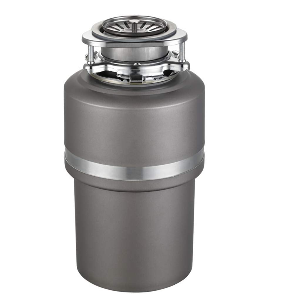 Food Waste Disposer, Household Compact Feed Kitchen Garbage Disposal,33 18cm,4000 RPM,Gray