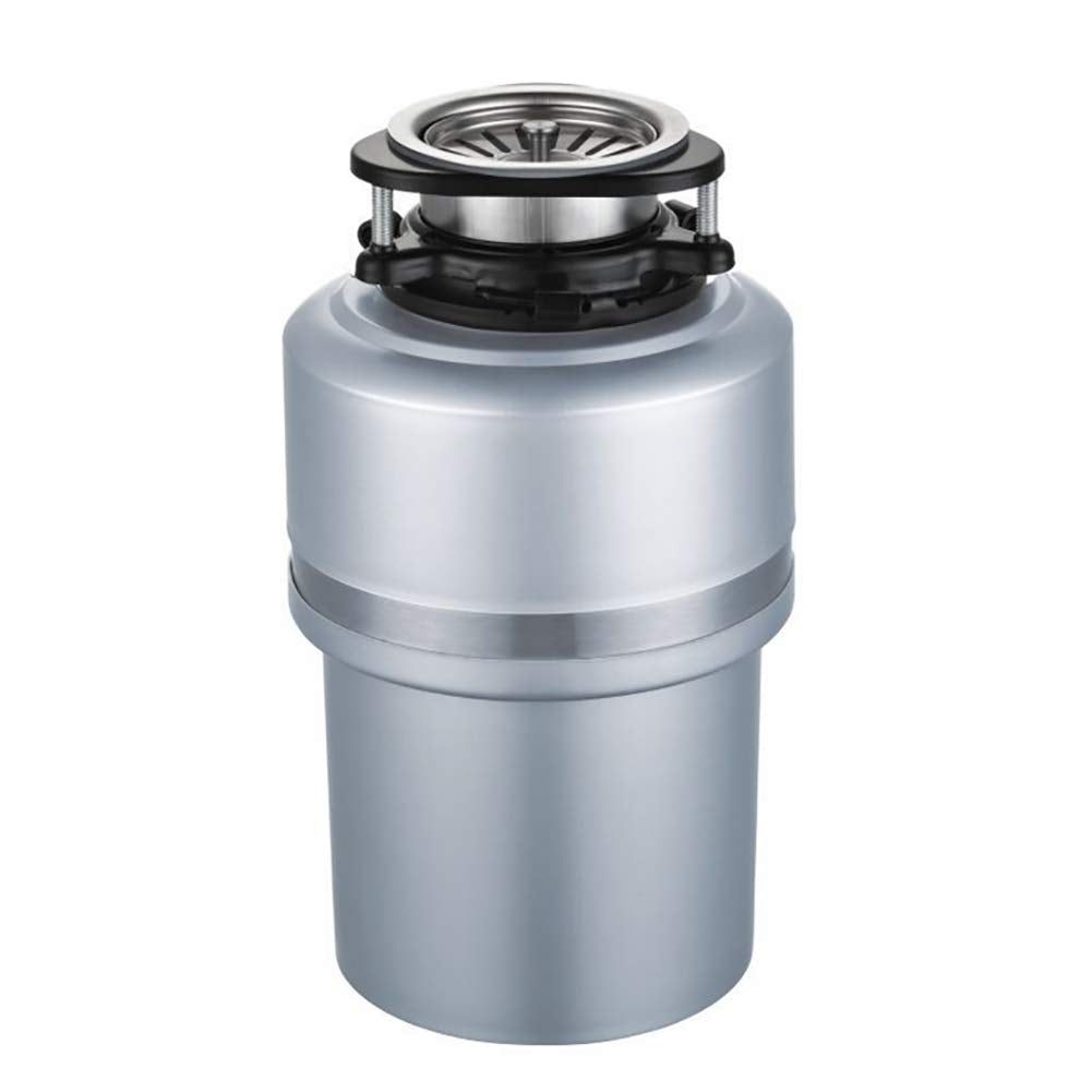 Food Waste Disposer, Household Compact Feed Kitchen Garbage Disposal,33 18cm,4000 RPM,Silver