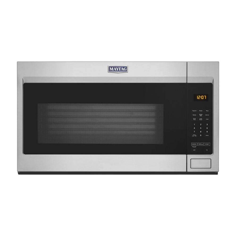 Maytag MMV1175JZ 1.9 Cu.Ft. Stainless Steel Over-The-Range Microwave