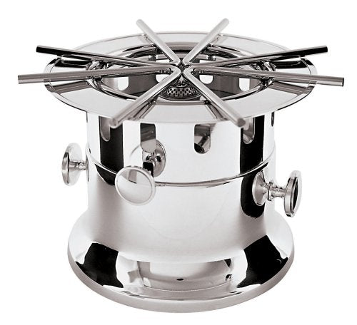Paderno World Cuisine 11 Inch Stainless Steel Flambe Burner