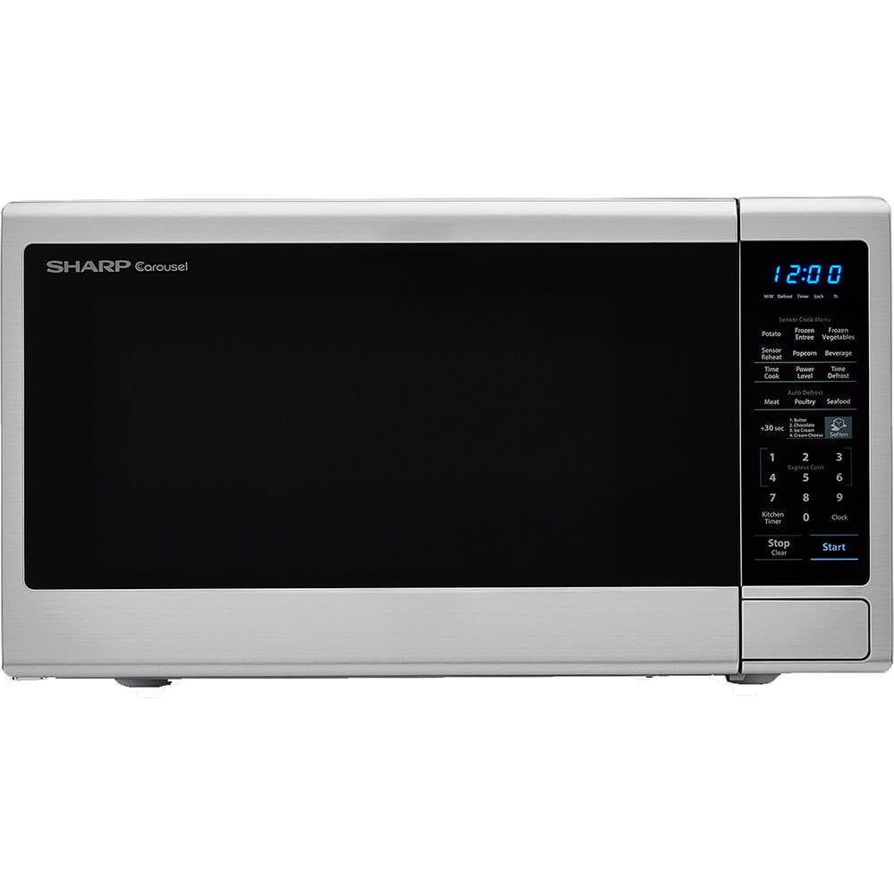 Carousel 1.8 Cu. Ft. 1100W Countertop Microwave Oven