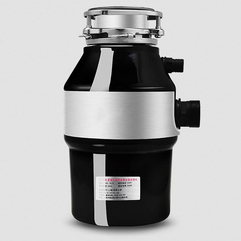 Food Waste Disposer, Household Compact Feed Kitchen Garbage Disposal,220V,560W,3200 RPM