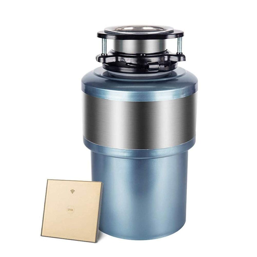 SMLZV Kitchen Waste Disposer Continuous Feed Super Quiet with Power Cord,Automatic Overload Protection