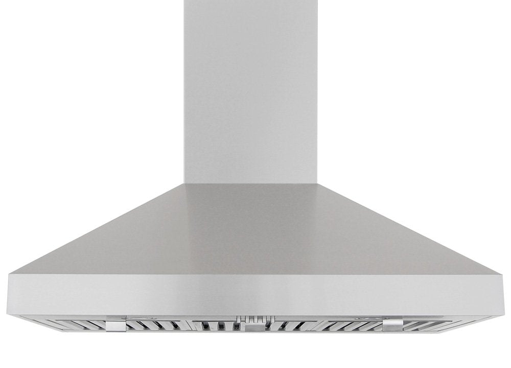 Windster Hood RA-60TB42SS Residential Stainless Steel Wall Mount Range Hood Set, 42-Inch
