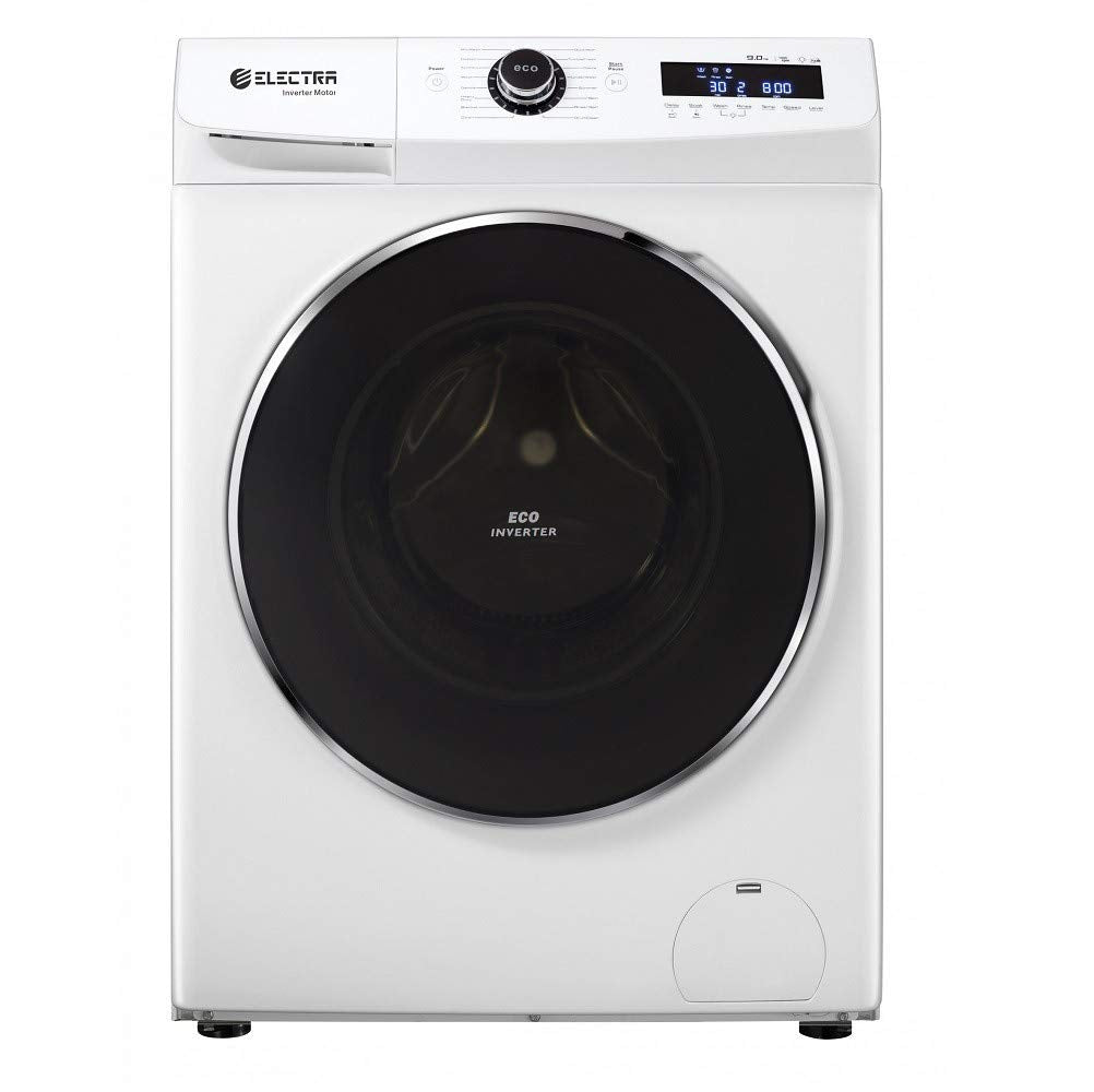 Electra Washing Machine Front Door 9KG- 16 Washing Programs including all types of fabric - Child safety lock.