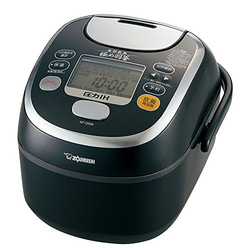 Zojirushi IH pressure Rice cooker Southern Iron Master Hagama Prime Black cook 3.5 Go NP-QS06-BZ
