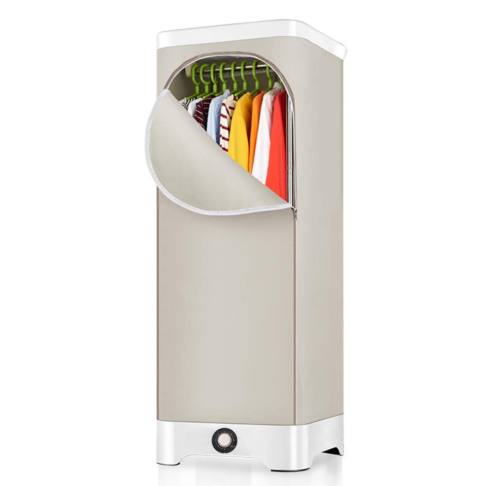 Qiqi Dryer Clothes Dryer/Stainless Steel Hanger/Double Layer/Detachable/Power 900W,Voltage 220V/brown