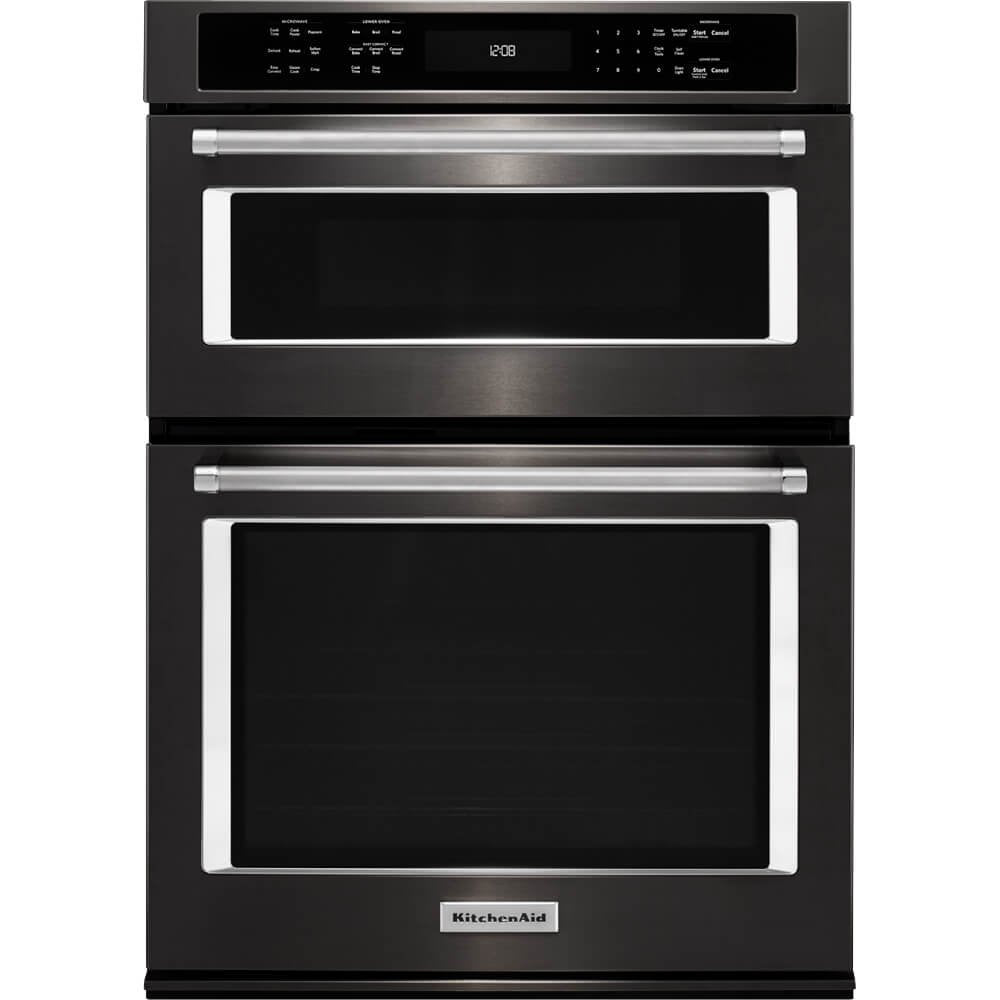 Kitchen Aid KOCE500EBS KOCE500EBS 30 Black Stainless Convection Wall Oven/Microwave Combination