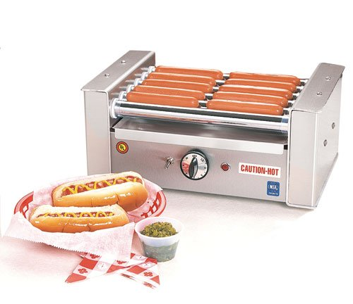 Hot Dog 'Roll-A-Grill' - 10 Hot Dog Capacity